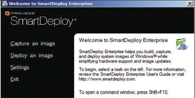 SmartDeploy Enterprise от Prowess   Windows IT Pro/RE